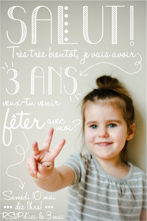 invitation-fete-Lili-3-ans                                                                                                                                                                                 Plus