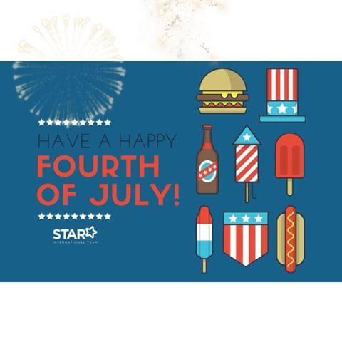 💙🎇Happy 4th of July🎆💙  🇺🇸  O Dia da Independência, também conhecido como Fourth of July, ou 4 de Julho, é um feriado federal nos Estados Unidos que comemora a adoção da Declaração de Independência, em 4 de julho de 1776. O Congresso Continental declarou que as treze colônias americanas consideravam eles mesmos como uma nova nação, os Estados Unidos da América, e já não faziam parte do Império Britânico.  O Dia da Independência é comumente associado a fogos de artifício, desfiles...