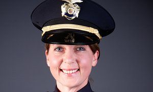 This undated file photo provided by the Tulsa Oklahoma Police Department shows officer Betty Shelby.