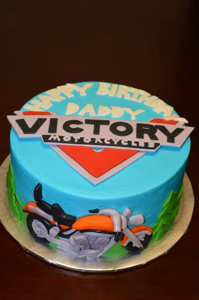 Victory Motorcycle Cake My Cakes Pinterest