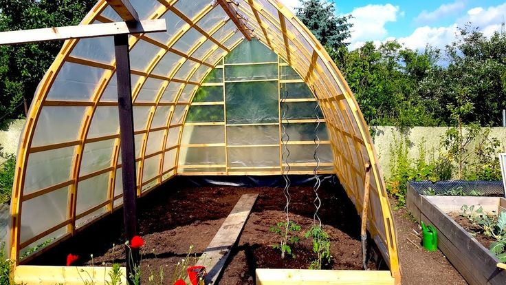 2422 best greenhouses images by laurie rheuark on for Gothic arch greenhouse plans
