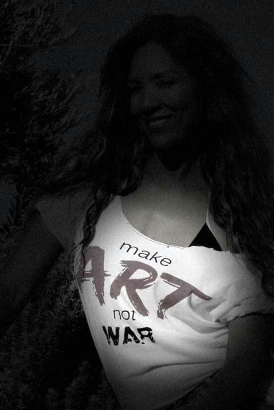 make art not war....
