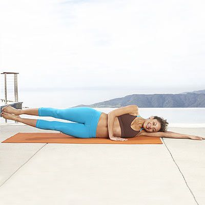 Want a tiny tummy? Try these straight line side lifts