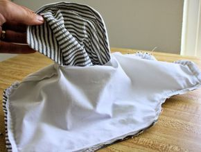the tailor's vest construction method // running with scissors