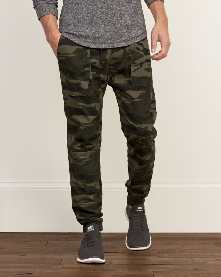 An army favorite featuring statement camo pattern, a drawstring waist, banded trims and front pockets, Classic Fit, Imported<br><br>100% Cotton