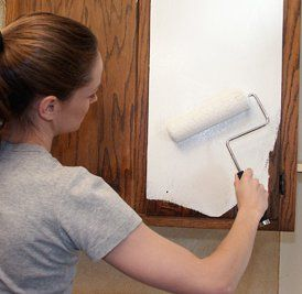 Rolling Paint On Formica Cabinets                                                                                                                                                                                 More