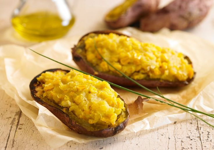 Batatas rellenas - Maru Botana