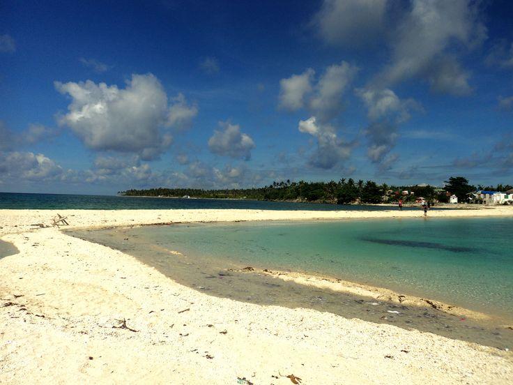Sandbar of Higatangan Island