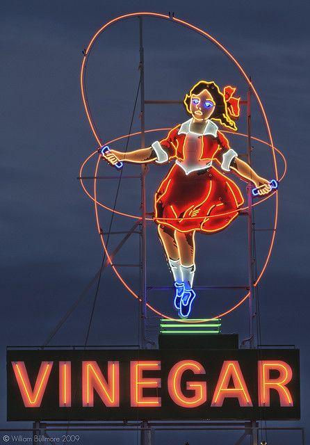 Melbourne's skipping vinegar girl.... restored and back in motion