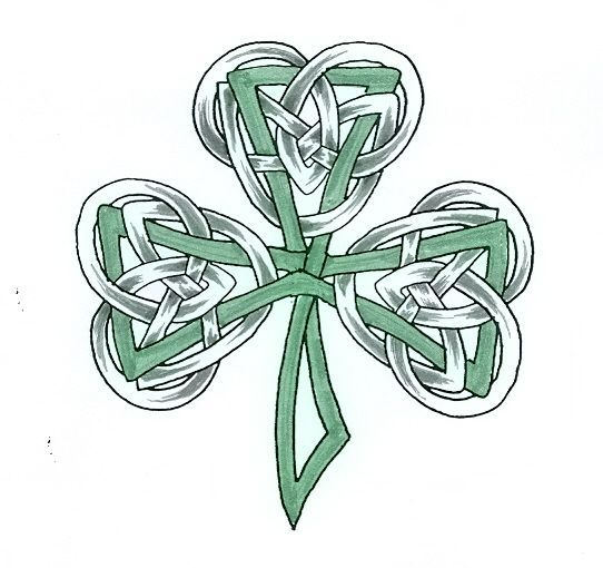 Irish tattoos, Celtic shamrock and Celtic on Pinterest