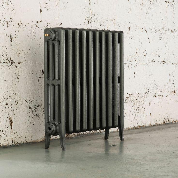 Arroll 4 Cast Iron Column Radiator, Cast Grey (W)600 mm (H)660 mm | Departments | DIY at B&Q
