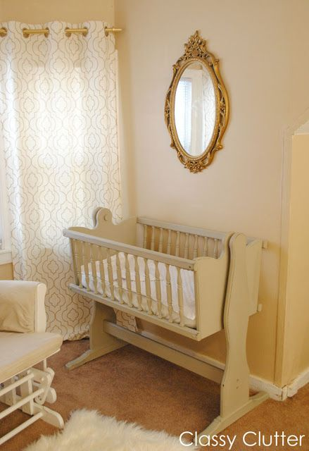 Baby's Mini Nursery Nook (in our Master Bedroom) -