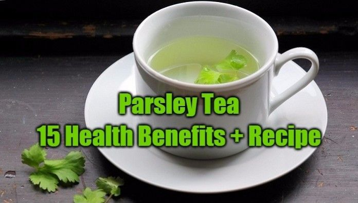 15 Health Benefits of Parsley Tea + Recipe