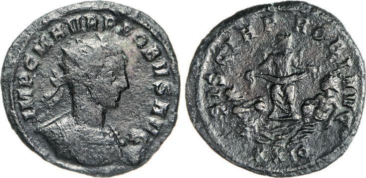NumisBids: Numismatica Varesi s.a.s. Auction 65, Lot 266 : PROBO (276-282) Antoniniano. D/ Busto radiato e corazzato R/ La...