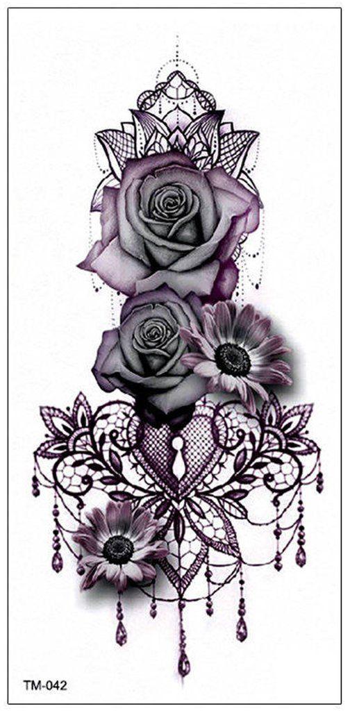 Gothic Rose Mandala Chandelier Back Tattoo Ideas for Women – Traditional … #chandelier #women #gothic #ideas #mandala #print #tattoo
