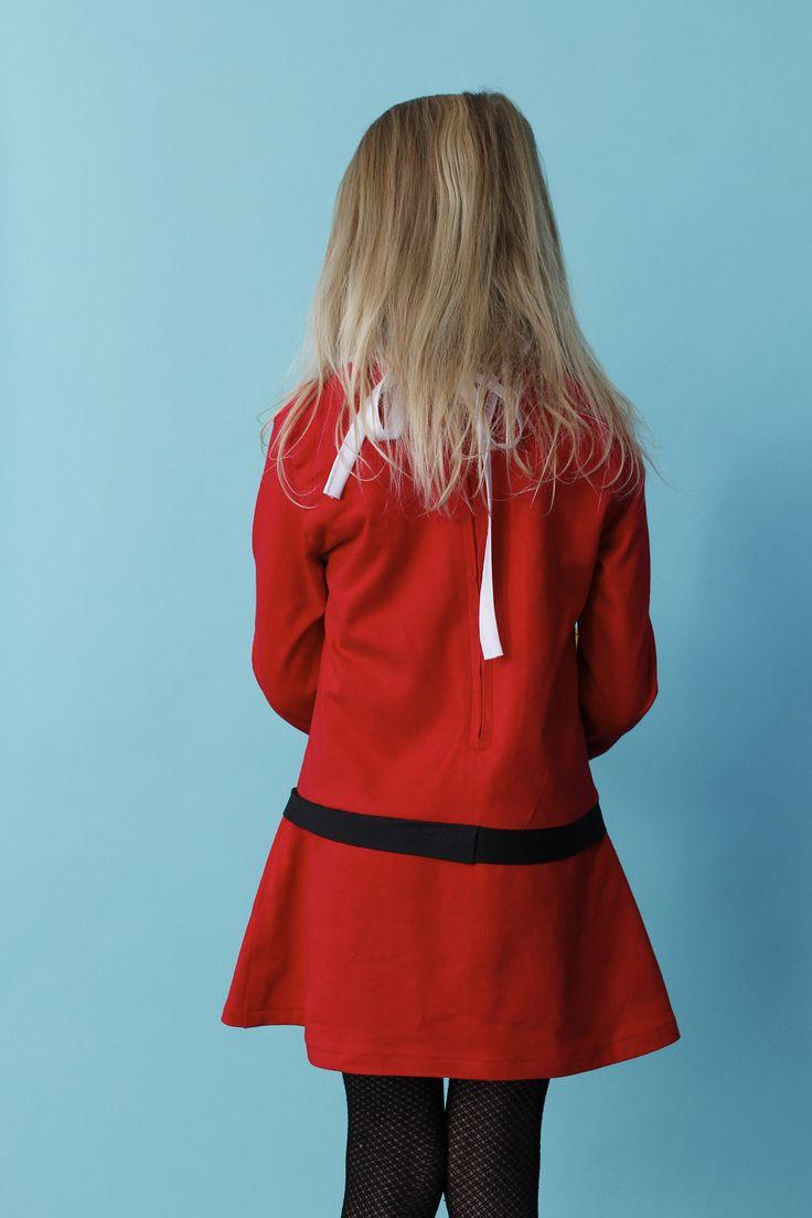 Veruca Salt dress pattern