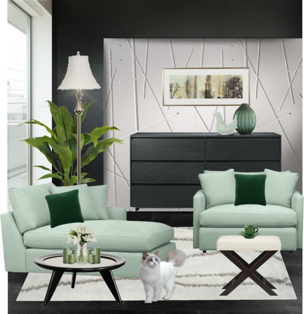 1000 images about mint green interiors on pinterest for Mint green and white room