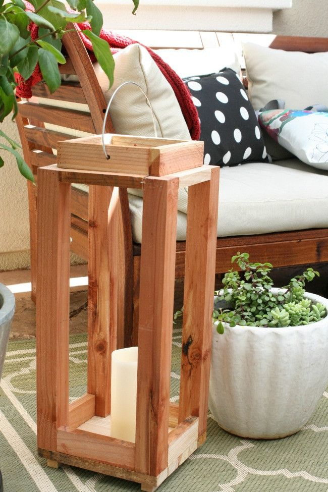 Ana White | Build a DIY Pottery Barn Inspired Lantern - Featuring Amy Krist | Free and Easy DIY Project and Furniture Plans