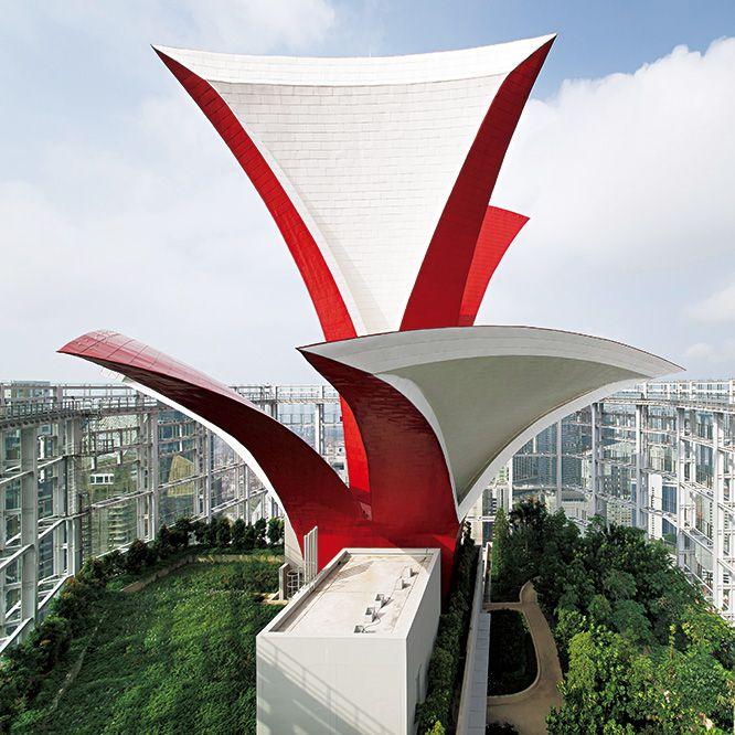 伊東豊雄のグリーンな高層オフィスタワー。|SINGAPORE | カーサ ブルータス Casa BRUTUS