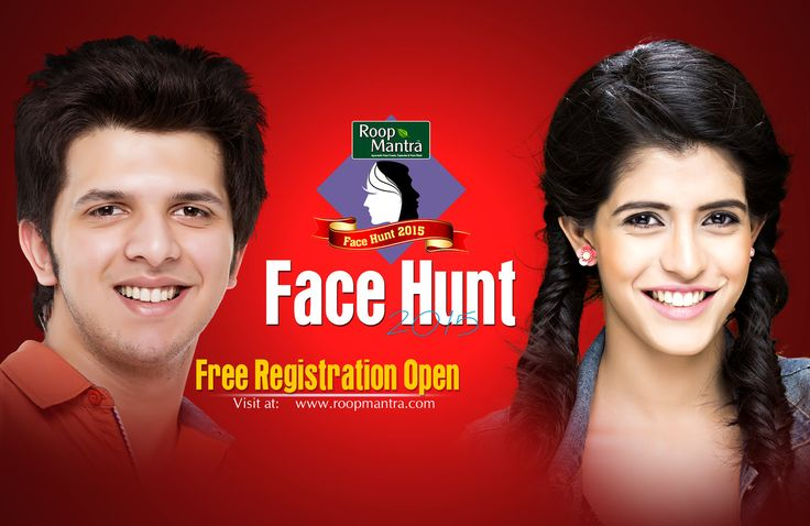 Roopmantra Face Hunt 2015 Contest For free online registration visit @ http://roopmantra.com/roop-mantra-face-hunt-registration-fo… Use this Tag : #RoopmantraFaceHunt  Follow Us: http://bit.ly/1CPmIjs Comment, Like & Share the contest with your friends too.  *Terms & Conditions Apply