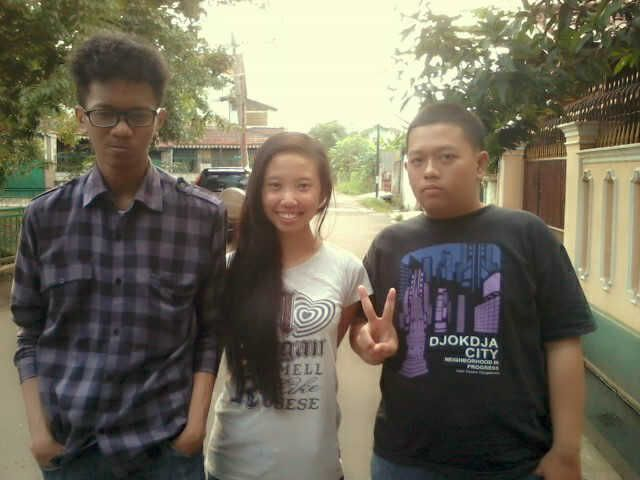 with 2 different boys :D