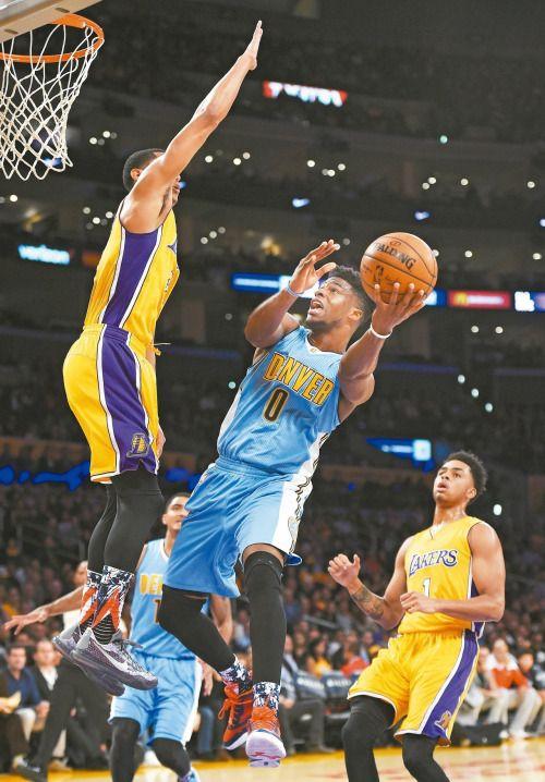 Emmanuel Mudiay denver nuggets nuggets basketball nba