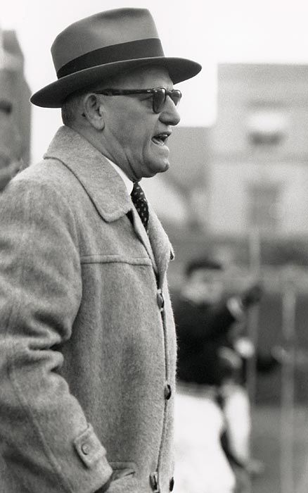 george halas | George Halas Chicago Bears Coach Football Style