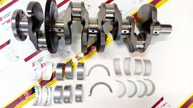 . disponemos de recambios nuevos para motor g9t g 9 t g-9-t motores 4 cilindros de 2188 cc diesel renault master, trafic, espace, laguna opel movano, vivaro, nissan primastar, interstard ( referencia original 8200590576 8200590576 ) . . . . kit cig�e�al nuevo con cojinetes biela y bancada por #675,00�# . . . . .tambi�n disponible para motores g8t g9u etc ...... consulta otras ofertas en culatas, bielas, valvulas de admision y escape, fap filtros de particulas, arboles de levas, etc…