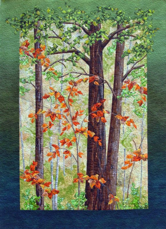 372 Best Tree Quilts Images On Pinterest Quilt Art Tree