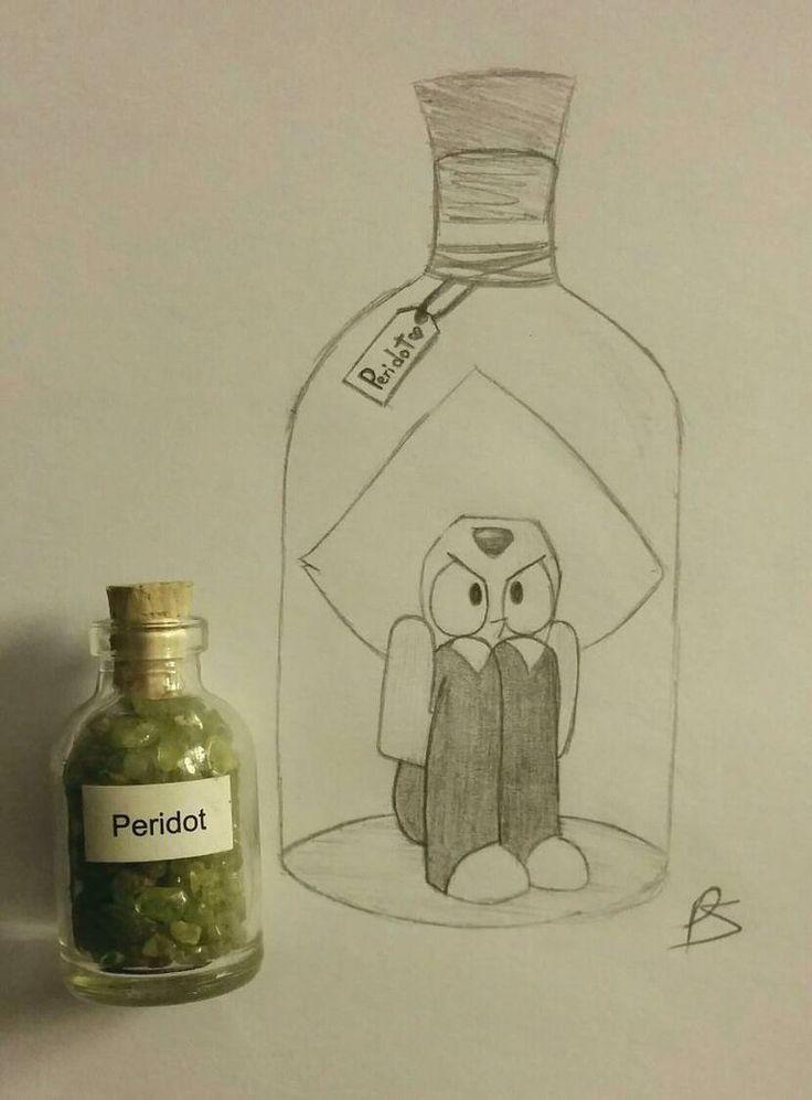 Jar of Peridot by Paint-Splotch.deviantart.com on @DeviantArt