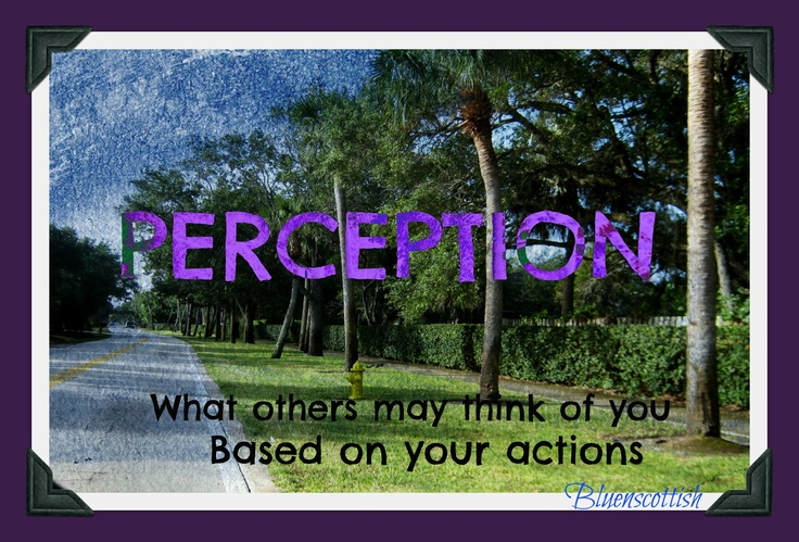 we are a reflection of our actions