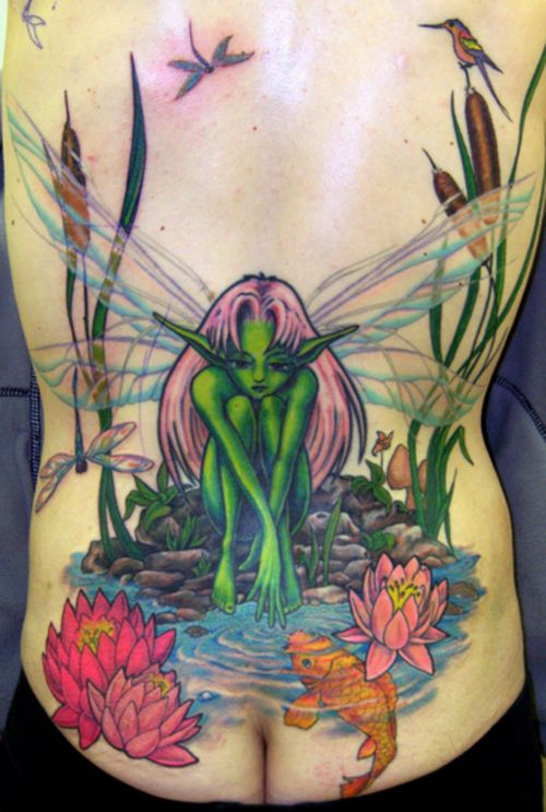1000+ Images About Fairy Tattoos On Pinterest