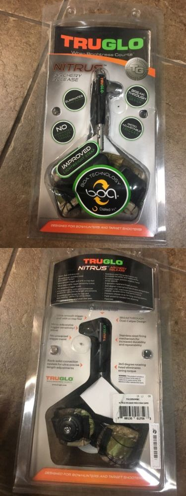 Release Aids 181303: Truglo Nitrus Boa Technology Camo Micro-Adjust Archery Release Tg2550mbc -> BUY IT NOW ONLY: $60 on eBay!