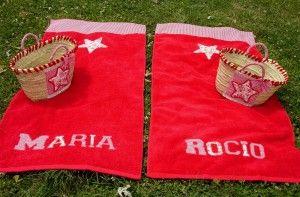 Capazo y toallas Cristina 6 | Las Muñequitas de Ainhoa