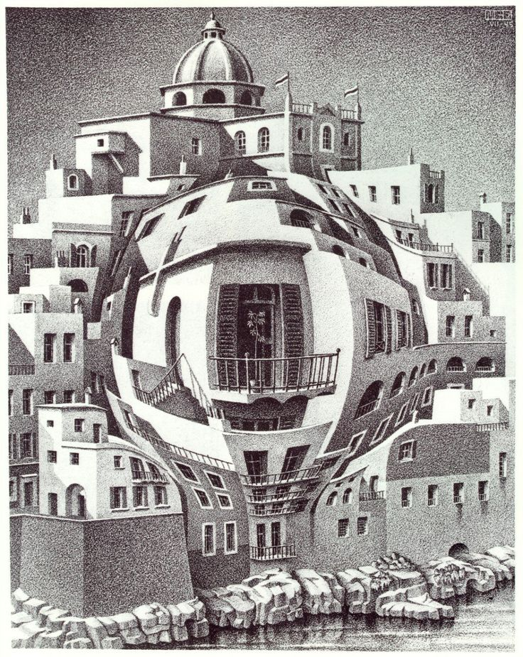 Image from http://uploads6.wikiart.org/images/m-c-escher/balcony.jpg.