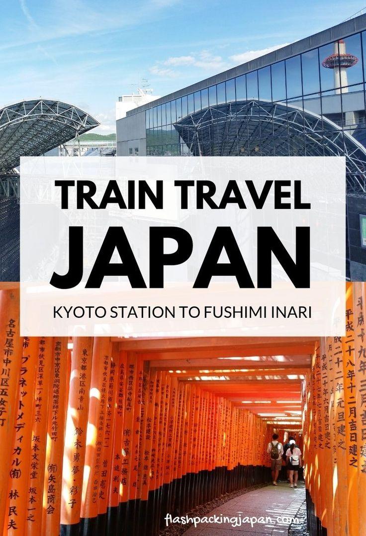 Kyoto station to Fushimi Inari with JR cross – Day 2 Kyoto itinerary – Backpacking Japan Journey