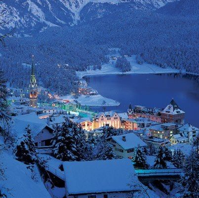 Lake St Moritz ,Switzerland