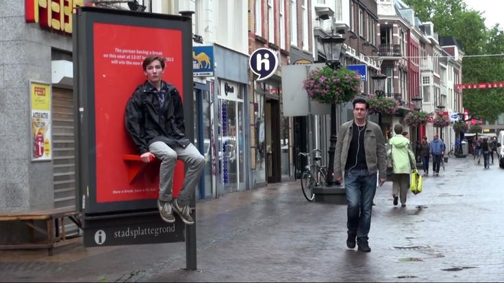 Kit Kat put up bus stops for people to take a break on. They then won a Nexus tablet for sitting and waiting!