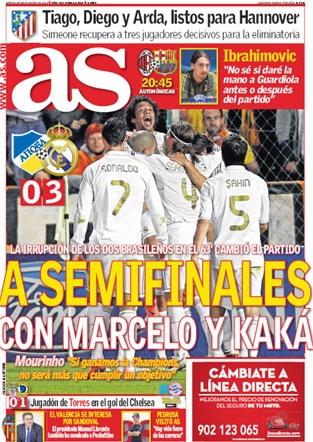 As: Periódico deportivo en español.