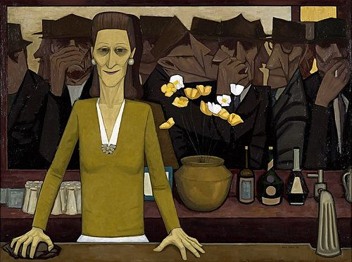 John Brack - The Bar [1954]