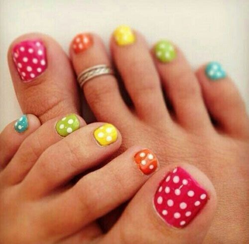 40 Creative Toe Nail Art Designs And Ideas