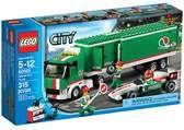 LEGO City Great Vehicles, Grand Prix-lastebil Alt i denne serien ønsker Henrik seg. Bortsett fra de med skinner