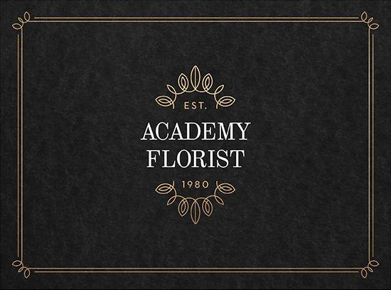 Academy Florist Rebrand