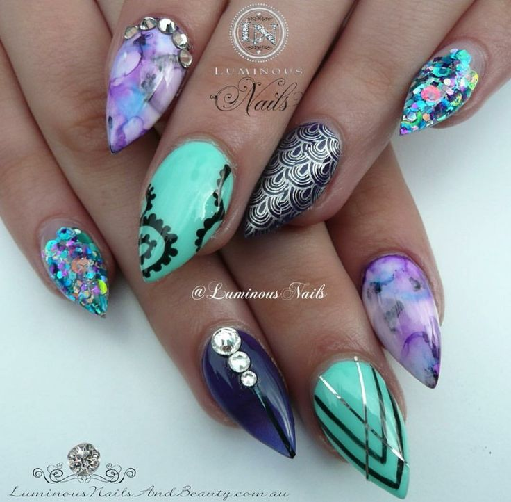 Glitter Nails Manicure Makeover Game For Girls By: 1000+ Ideas About Short Stiletto Nails On Pinterest
