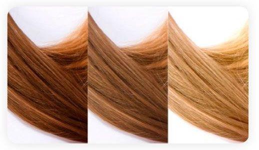 naturalnie rozjaśnione włosy! szampon Camomile Nirvel i słońce, efekt, zdrowe pięknie błyszczące włosy z naturalnymi refleksami .
