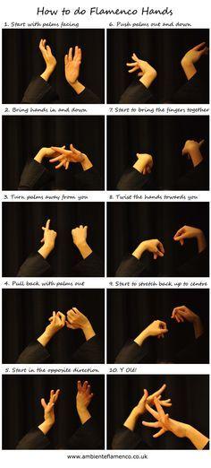 How to do Flamenco hands!