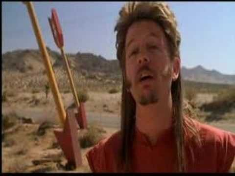 Joe Dirt - fireworks stand scene