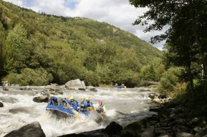 Rafting La Plagne : An Raftring, pratique du raftring à Macot La Plagne (73) - Voytoo