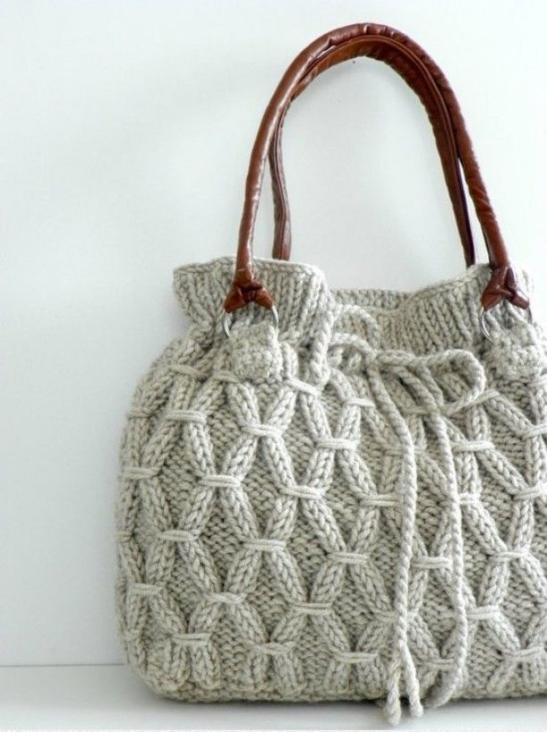 Love this knit bag!!