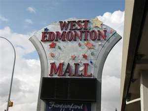 WEST EDMONTON MALL. Edmonton, ALBERTA, CANADA. North America's Largest mall. Maybe even world's largest or second largest mall.